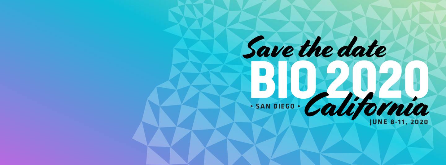 Save the Date - Bio 2020